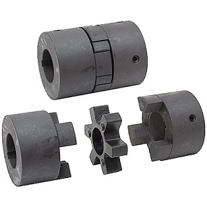 G & G L Jaw & Steel Sleeve Shaft Couplers