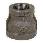Black Steel Reducing Coupling
